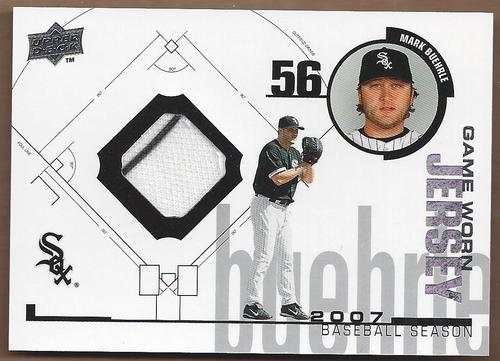 Photo of 2008 Upper Deck UD Game Materials 1998 #MB Mark Buehrle