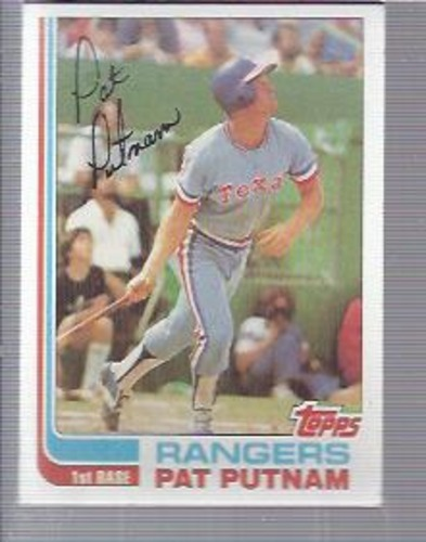 Photo of 1982 Topps #149 Pat Putnam