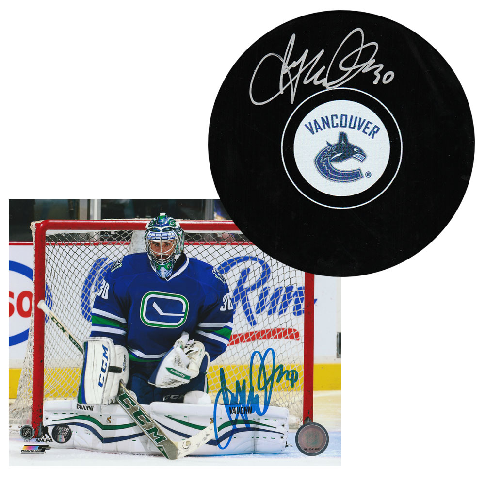 Ryan Miller Autographed Combo Lot - 8X10 Photo & Puck