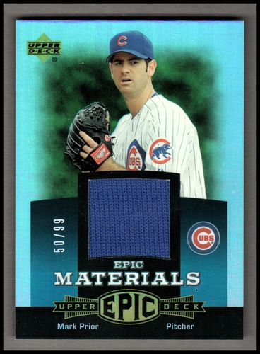 Photo of 2006 Upper Deck Epic Materials Teal #MA2 Mark Prior Jsy/99