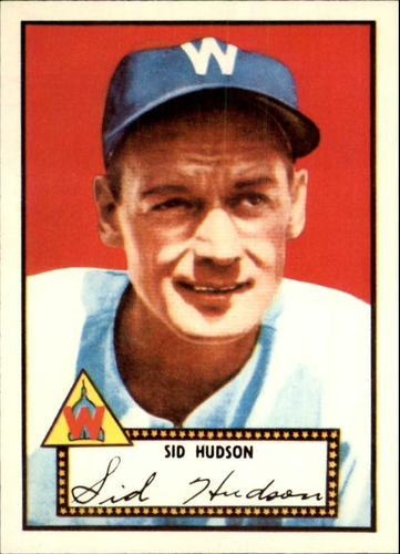 Photo of 1983 Topps 1952 Reprint #60 Sid Hudson