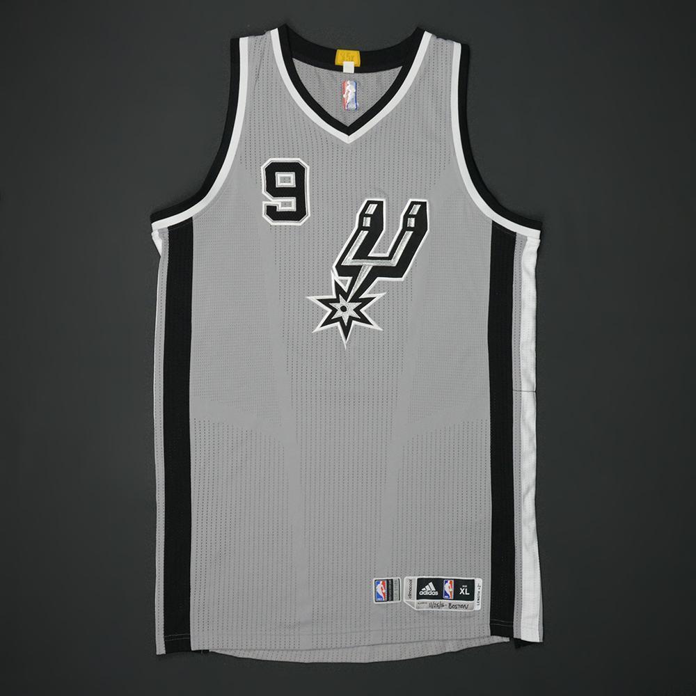 Tony Parker -San Antonio Spurs - Game-Worn Jersey - 2016-17 NBA Season