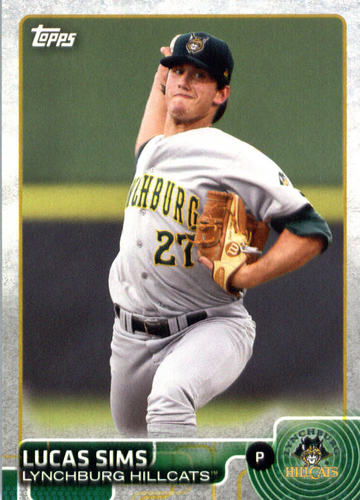Photo of 2015 Topps Pro Debut #35 Lucas Sims