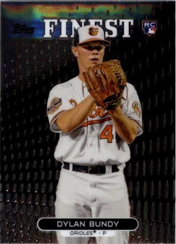 Photo of 2013 Finest #16 Dylan Bundy Rookie Card