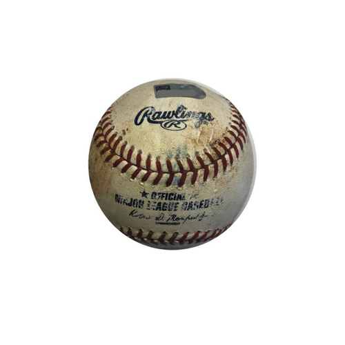 Photo of Game-used Baseball:7/20/2016 Anderson vs. Mercer, Double