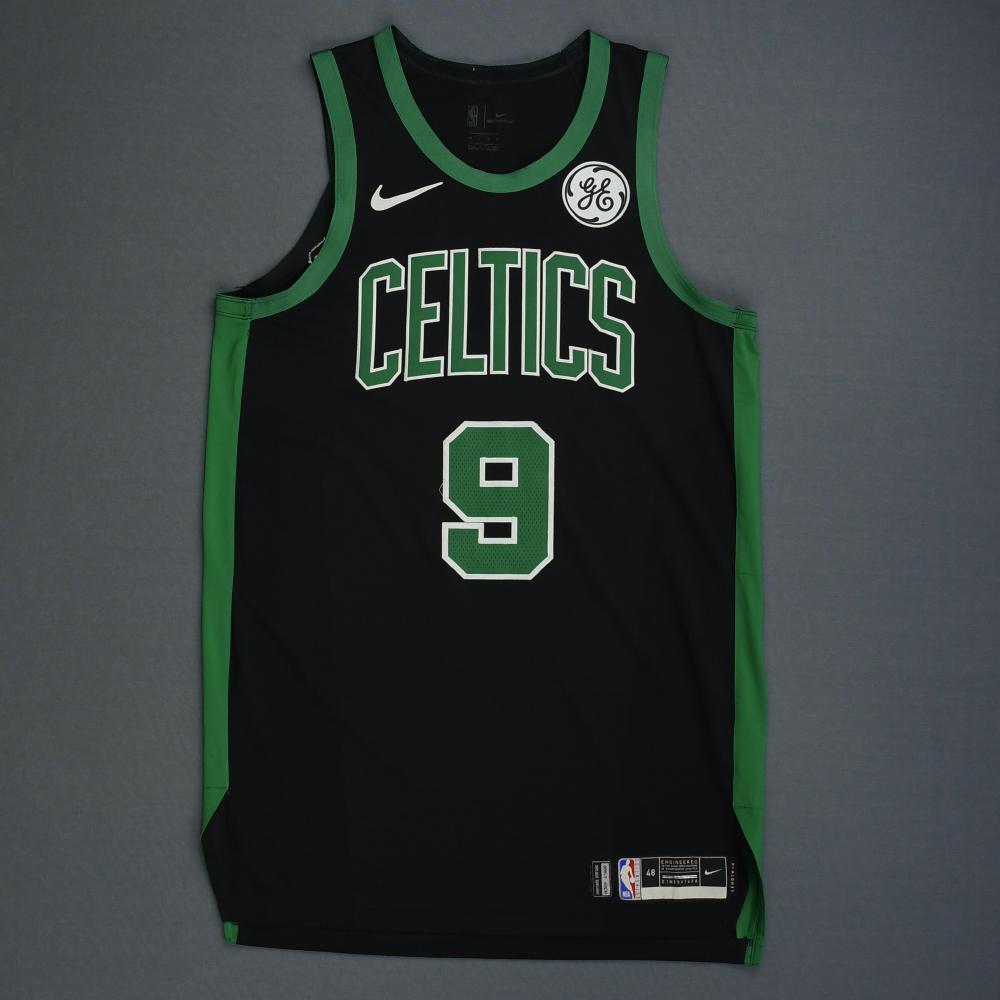 Brad Wanamaker - Boston Celtics - 2019 NBA Playoffs - Game-Worn Black Statement Edition Jersey