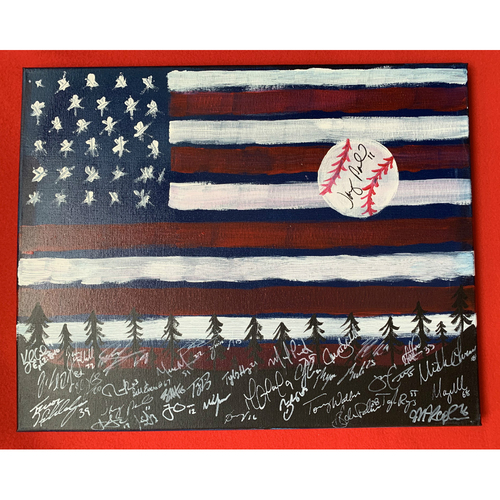 Photo of 2019 Twins Favorite Things Auction: Jorge Polanco Painting