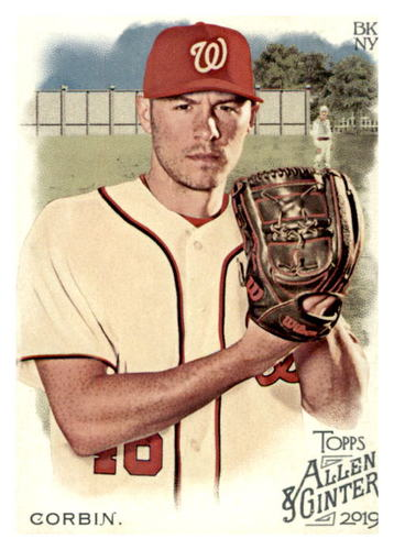 Photo of 2019 Topps Allen and Ginter #71 Patrick Corbin