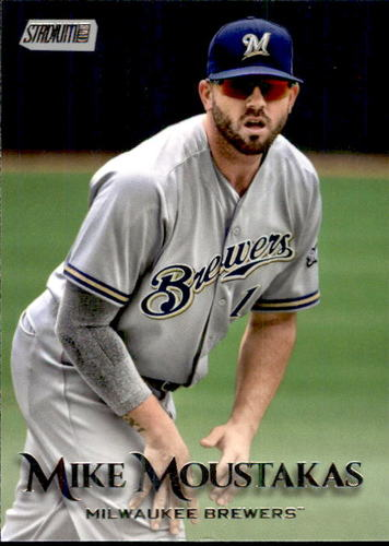 Photo of 2019 Stadium Club #228 Mike Moustakas