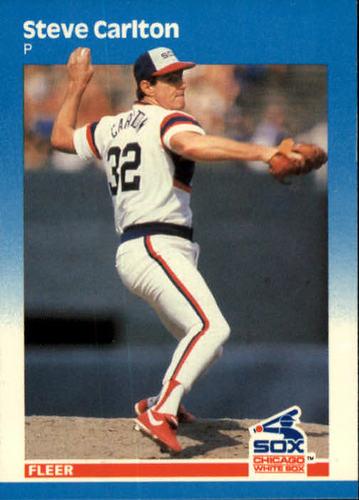 Photo of 1987 Fleer #490 Steve Carlton