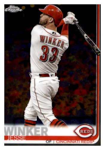 Photo of 2019 Topps Chrome #61 Jesse Winker