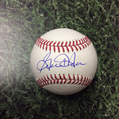 Photo of Gorman Thomas Autographed Baseball