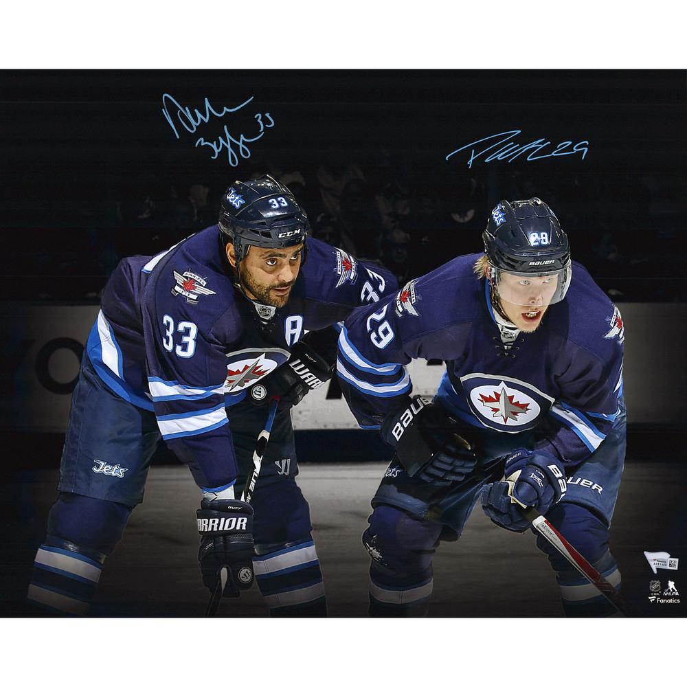 Patrik Laine & Dustin Byfuglien Winnipeg Jets Autographed 16