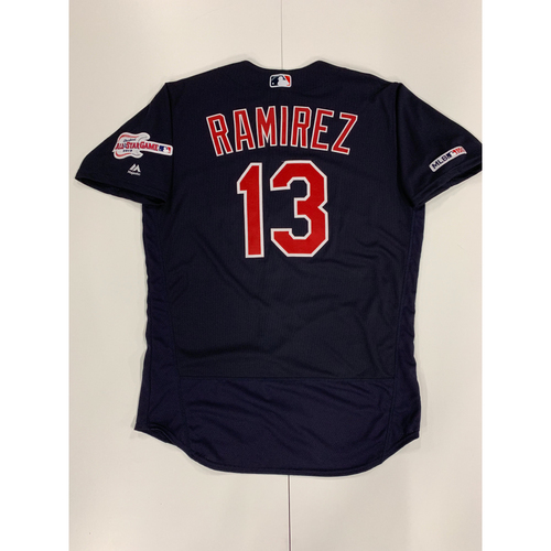 Photo of Hanley Ramirez 2019 Team Issued Alternate Road Jersey