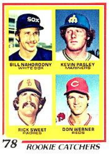 Photo of 1978 Topps #702 Rookie Catchers/Bill Nahorodny RC/Kevin Pasley/Rick Sweet RC/Don Werner RC