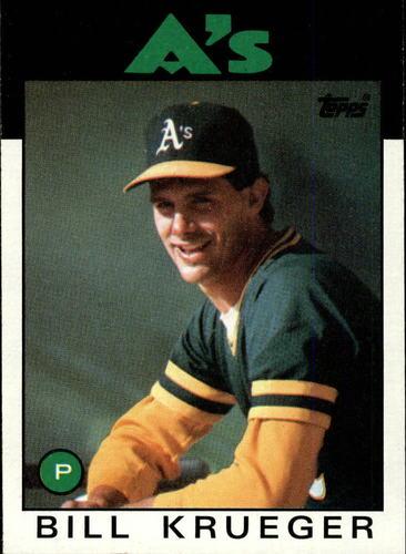 Photo of 1986 Topps #58 Bill Krueger