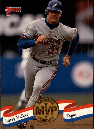 Photo of 1993 Donruss MVPs #9 Larry Walker