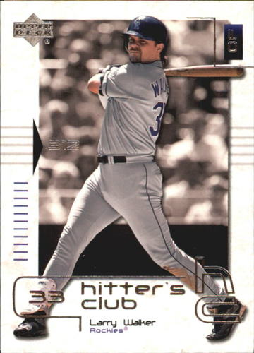 Photo of 2000 Upper Deck Hitter's Club #41 Larry Walker