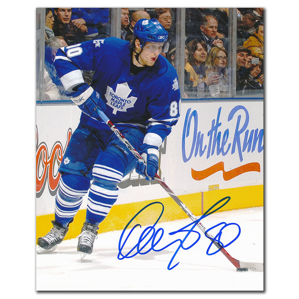 Nik Antropov Toronto Maple Leafs RUSH Autographed 8x10