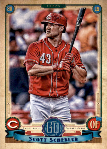 Photo of 2019 Topps Gypsy Queen #140 Scott Schebler