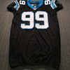 Crucial Catch - Panthers Kawann Short Signed Game Issued Jersey Size 54