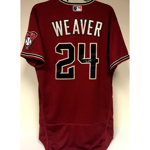 Photo of Luke Weaver Team Issued & Autographed Jersey