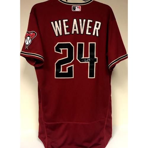 Luke Weaver Team Issued & Autographed Jersey