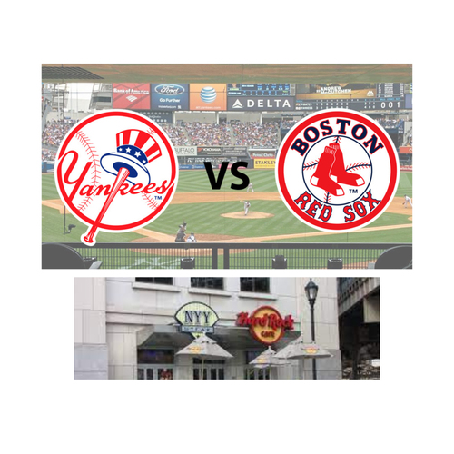 "Photo of LOT #14: ""Hard"" to Come By: Yankees vs. Red Sox Game"