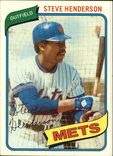 Photo of 1980 Topps #299 Steve Henderson