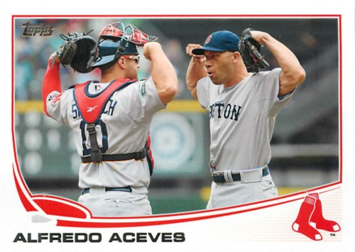 Photo of 2013 Topps #91 Alfredo Aceves