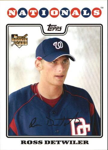 Photo of 2008 Topps #92 Ross Detwiler RC
