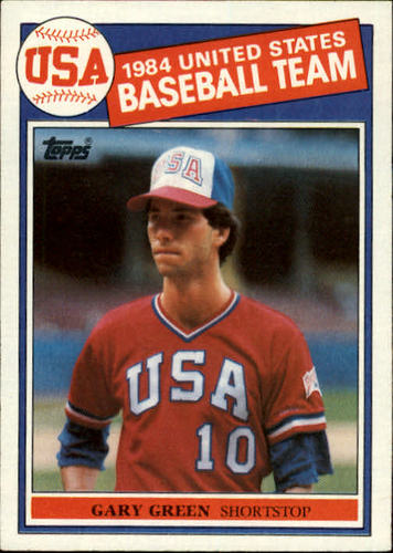 Photo of 1985 Topps #396 Gary Green OLY RC