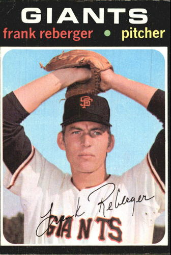 Photo of 1971 Topps #251 Frank Reberger