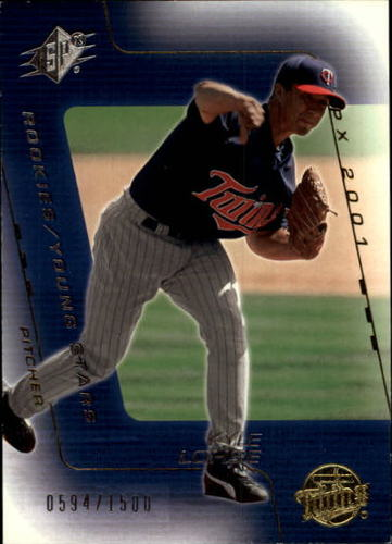 Photo of 2001 SPx #186 Kyle Lohse YS RC