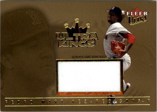 Photo of 2005 Ultra Kings Jersey Gold #PM Pedro Martinez K