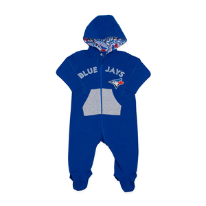 Toronto Blue Jays Infant Hooded Sleeper by Snugabye