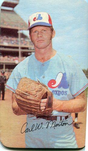 Photo of 1971 Topps Super #28 Carl Morton