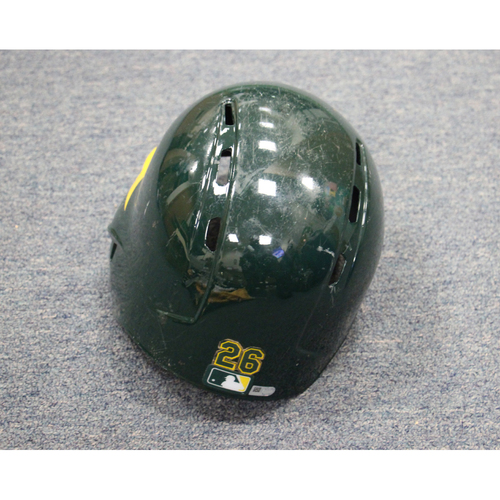 Photo of 2017 Matt Chapman Game-Used Helmet