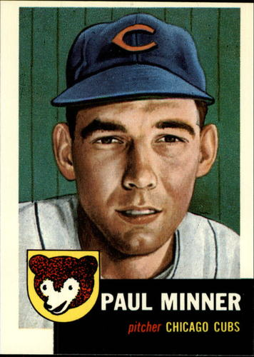 Photo of 1991 Topps Archives 1953 #92 Paul Minner