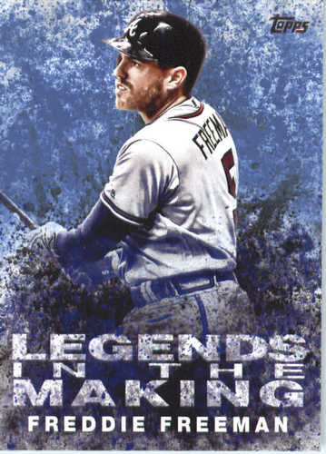 Photo of 2018 Topps Legends in the Making #LTMFF Freddie Freeman