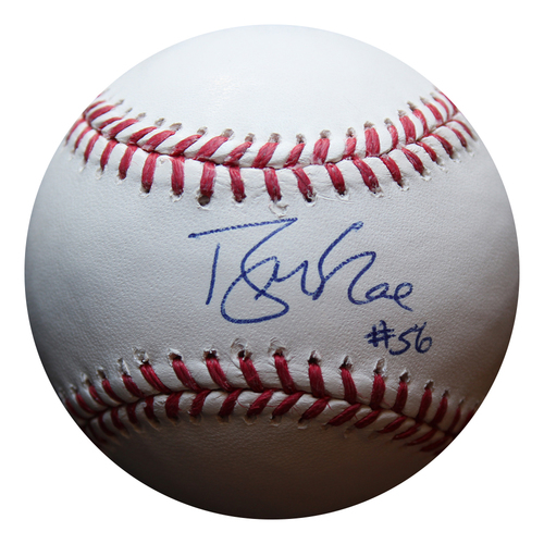 Photo of Autographed Baseball: Brian McRae