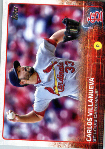 Photo of 2015 Topps Update #US301 Carlos Villanueva