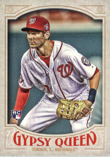 Photo of 2016 Topps Gypsy Queen #64A Trea Turner RC/No ball