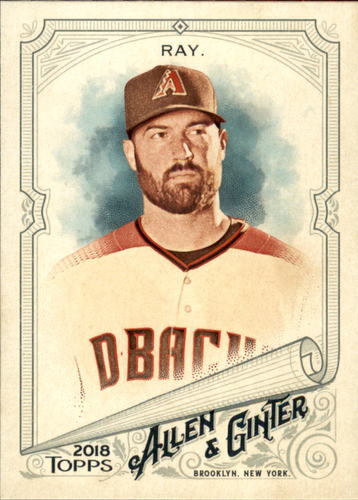 Photo of 2018 Topps Allen and Ginter #52 Robbie Ray