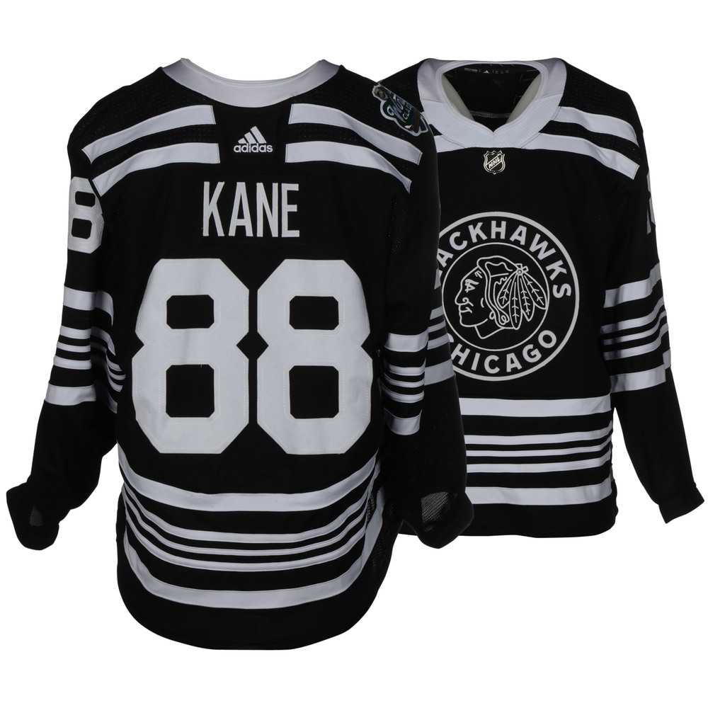 Patrick Kane Chicago Blackhawks Game-Worn 2019 NHL Winter Classic Jersey