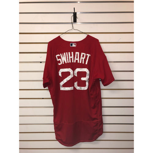 Photo of Blake Swihart Team-Issued 2018 Spring Training jersey