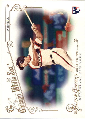 Photo of 2014 Topps Allen and Ginter #269 Jose Abreu RC