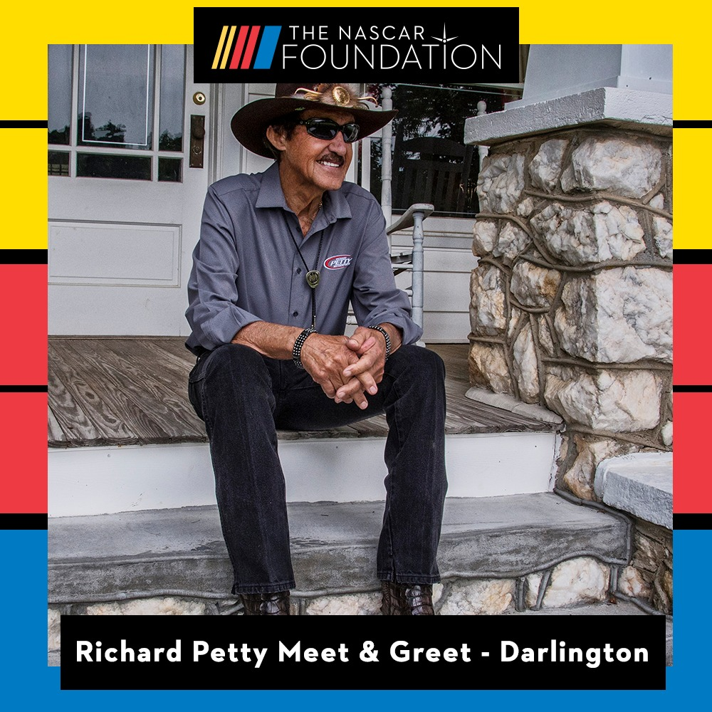 Richard Petty Meet and Greet at Darlington!