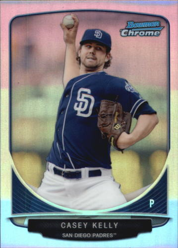 Photo of 2013 Bowman Chrome Cream of the Crop Mini Refractors #SDP5 Casey Kelly