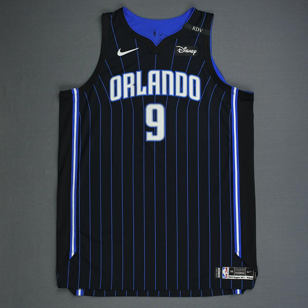 buy popular 13de4 ba011 Nikola Vucevic - Orlando Magic - Game-Worn Statement Edition ...